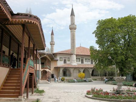 Бахчисарайский ханский дворец крым